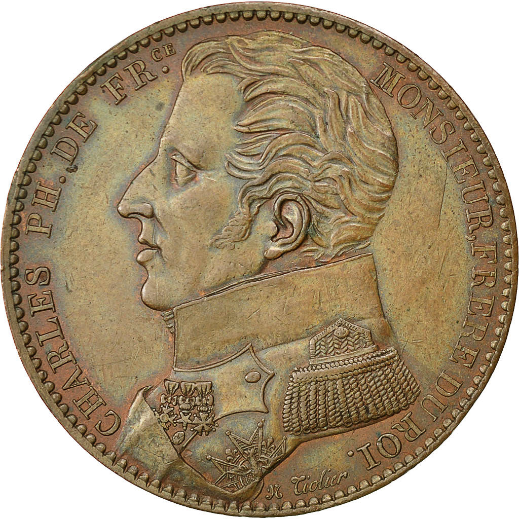 Coin, France, 5 Francs, 1818, Paris, AU(55-58), Bronze, Gadoury:618 C