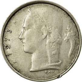 Coin, Belgium, Franc, 1973, EF(40-45), Copper-nickel, KM:143.1