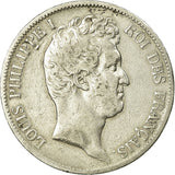 Coin, France, Louis-Philippe, 5 Francs, 1831, Bordeaux, HYBRIDE, VF(20-25)