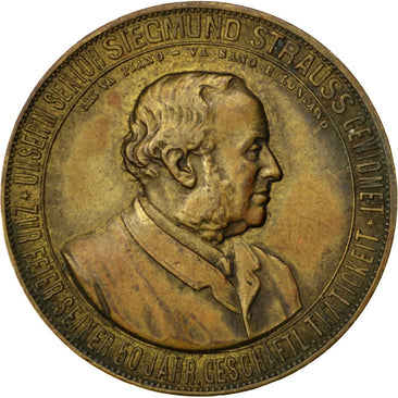 Germany, Politics, Society, War, Medal, AU(50-53), Copper, 30, 14.30