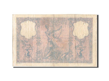 France, 100 Francs, 100 F 1888-1909 ''Bleu et Rose'', 1889, KM:65a, 1889-07-1...
