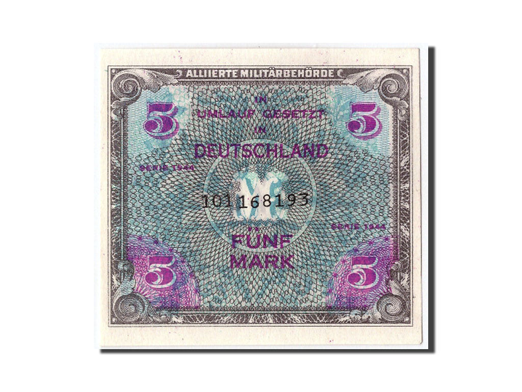 Germany, 5 Mark, 1944, KM #193b, UNC(65-70), 101072765