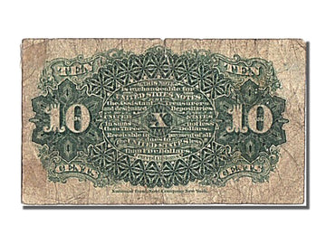 United States, 10 Cents, 1863, 1863-03-03, VF(30-35)