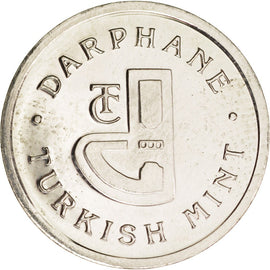 Turkey, Token, Darphane, Turkish Mint, 2004, MS(63), Copper-nickel