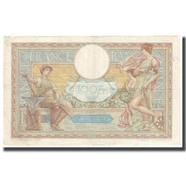 France, 100 Francs, Luc Olivier Merson, 1934, P. Rousseau and R. Favre-Gilly