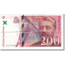 France, 200 Francs, 1999, Undated (1999), VF(20-25), KM:159c