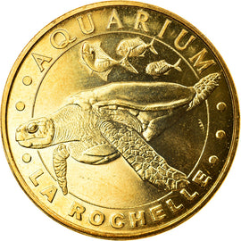 France, Token, Touristic token, La Rochelle - Aquarium n°2, Arts & Culture