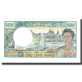 Banknote, French Pacific Territories, 500 Francs, KM:1a, UNC(63)