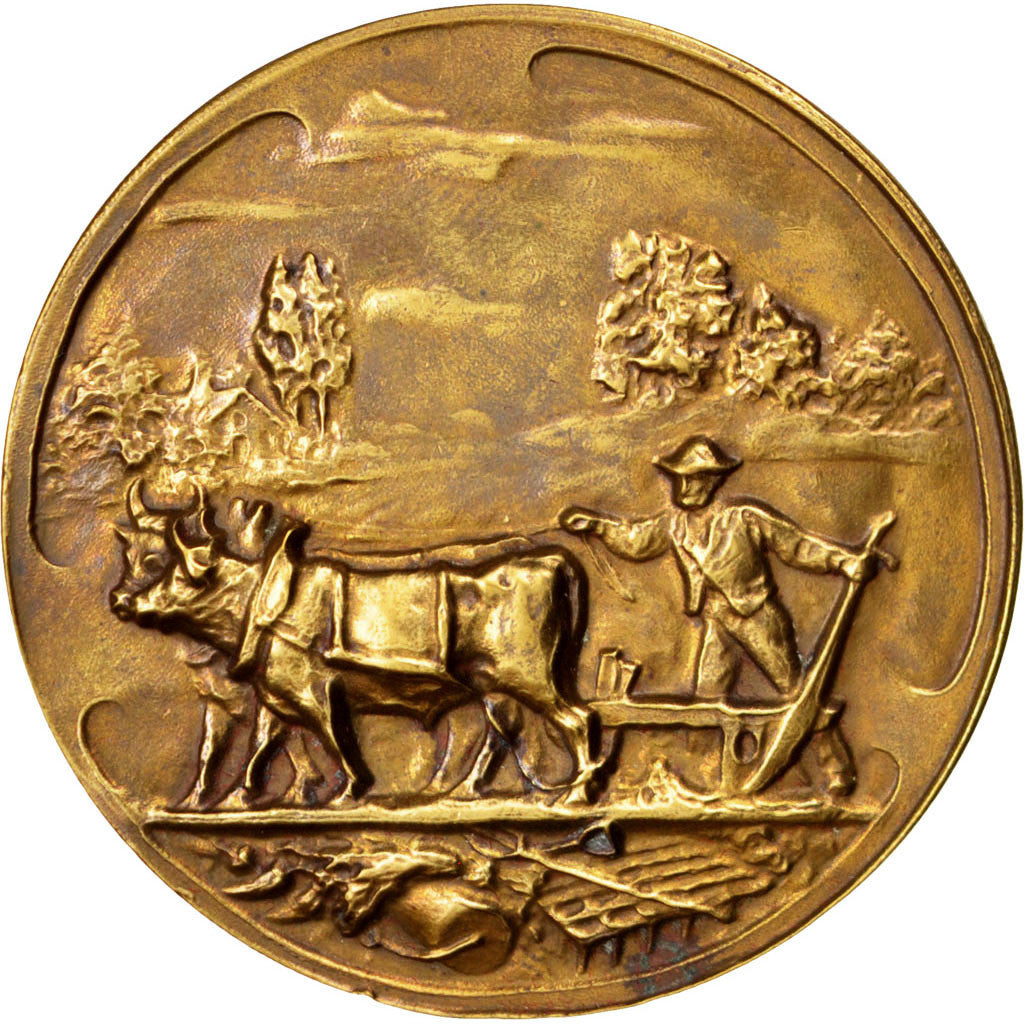 Belgium, Business & industry, Medal, 1931, AU(55-58), Bronze, 51, 49.90