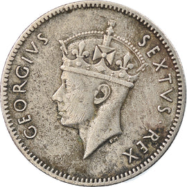 Coin, EAST AFRICA, George VI, 50 Cents, 1948, EF(40-45), Copper-nickel, KM:30