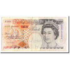Banknote, Great Britain, 10 Pounds, 1993, KM:386a, EF(40-45)