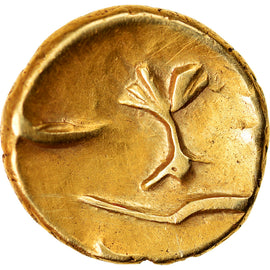 Coin, Morini, 1/4 Stater, Ist century BC, EF(40-45), Gold, Delestrée:249