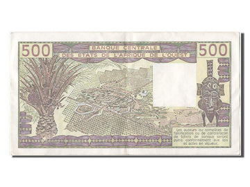 West African States, 500 Francs, 1981, KM #106Ac, UNC(60-62), A343600 Z.8