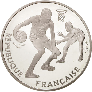 FRANCE, 100 Francs, 1991, KM #991, MS(65-70), Silver, 22.20
