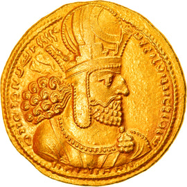 Coin, Sasanian Kings, Shapur I, Dinar, 260-272, Ctesiphon, AU(55-58), Gold