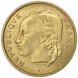 Coin, France, 20 Francs, 1950, MS(60-62), Cupro-Aluminium, KM:Pn113