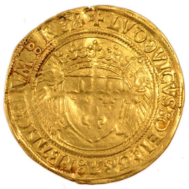 Coin, France, Ecu d'or, Montpellier, AU(55-58), Gold, Duplessy:655