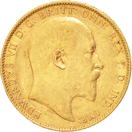 AUSTRALIA, Sovereign, 1904, Perth, KM #15, EF(40-45), Gold, 21, 7.95