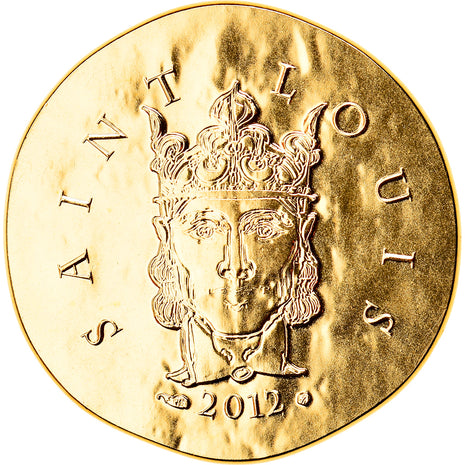 France, 50 Euro, Saint Louis, 2012, MS(65-70), Gold