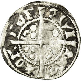 Coin, Great Britain, Edward I, Penny, Canterbury, VF(30-35), Silver, Spink:1419