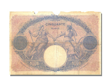 France, 50 Francs, 50 F 1889-1927 ''Bleu et Rose'', 1899, KM #64c, 1899-01-03,..