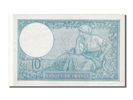 France, 10 Francs, 10 F 1916-1942 ''Minerve'', 1941, KM #84, 1941-01-16,...