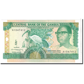 Banknote, The Gambia, 10 Dalasis, 1991, Undated, KM:13a, UNC(65-70)