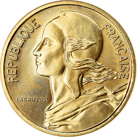 Coin, France, Marianne, 5 Centimes, 1983, Paris, MS(65-70), Aluminum-Bronze