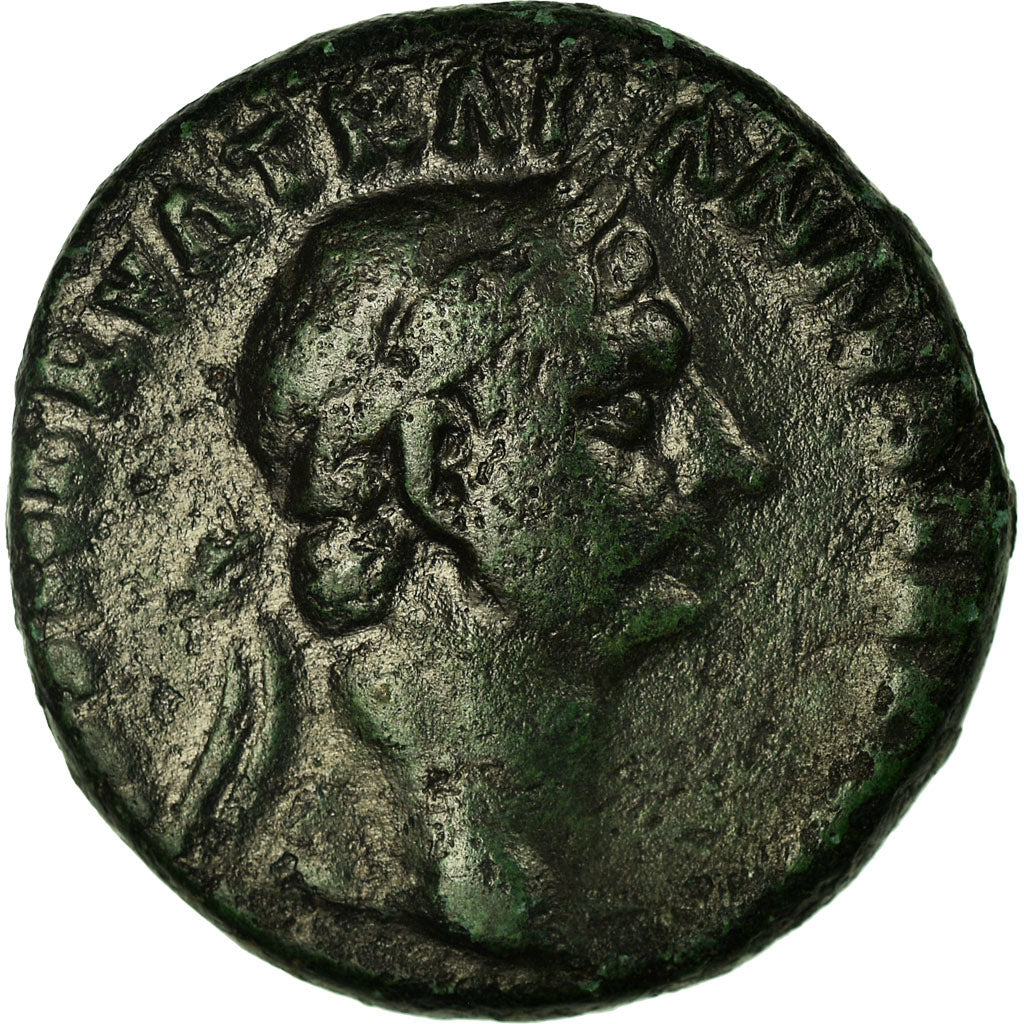 Coin, Trajan, As, Roma, EF(40-45), Bronze, RIC:395