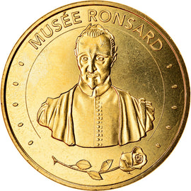 France, Token, La Riche - Musée Ronsard, 2018, MDP, MS(63), Cupro-nickel