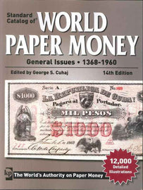 Book, Billets, World Paper, 1368-1960, 14th Edition, Safe:1843