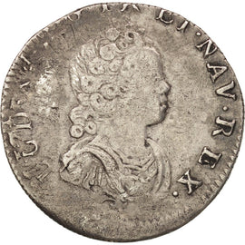 Coin, France, 1/10 Ecu, Lille, EF(40-45), Silver, Gadoury:289