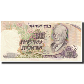 Banknote, Israel, 10 Lirot, Undated (1968), KM:35a, UNC(65-70)
