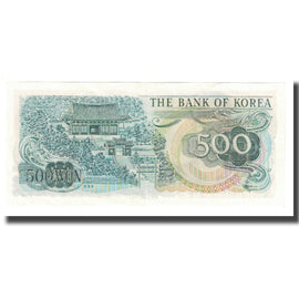 Banknote, South Korea, 500 Won, KM:43, AU(55-58)