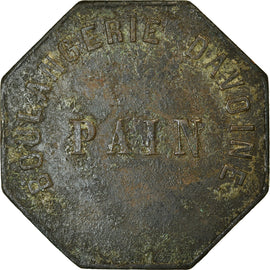 Coin, France, S.R., Boulangerie d'Avoine, Uncertain Mint, PAIN, VF(30-35)