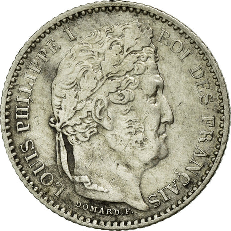 Coin, France, Louis-Philippe, 25 Centimes, 1846, Paris, AU(50-53), Silver