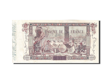 France, 5000 Francs, 5 000 F 1918 ''Flameng'', 1918, KM #76, 1918-01-25,...