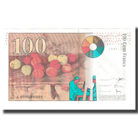 France, 100 Francs, 1997, D.Bruneel-J.Bonnardin-Y.Barroux, UNC(65-70)