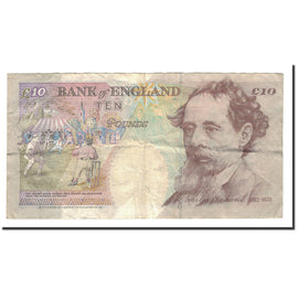 Banknote, Great Britain, 10 Pounds, 1992-1993, KM:383a, VF(20-25)