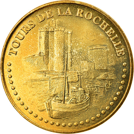 France, Token, Touristic token, La Rochelle - tours n°2, Arts & Culture, 2010