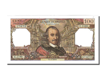 Banknote, France, 100 Francs, 100 F 1964-1979 ''Corneille'', 1978, 1978-03-02