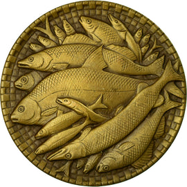 Sweden, Medal, Fishing, 1973, Léo Holmgren, MS(63), Bronze