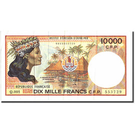 Banknote, French Pacific Territories, 10,000 Francs, Undated (1985), Undated
