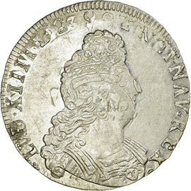 Coin, France, 1/2 Ecu, 1705, EF(40-45), Silver, Gadoury:194