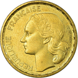 Coin, France, 10 Francs, 1950, Paris, ESSAI, MS(60-62), Aluminum-Bronze, KM:E91