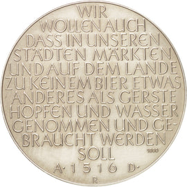 Germany, Beer protection law, Medal, 1960, AU(55-58), Bronze, 40mm
