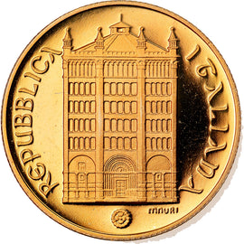 Coin, Italy, 50000 Lire, 1996, Rome, MS(65-70), Gold, KM:225