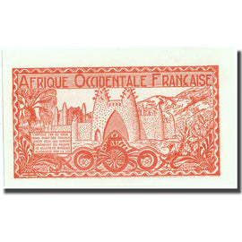 Banknote, French West Africa, 0.50 Franc, Undated (1944), KM:33a, UNC(65-70)
