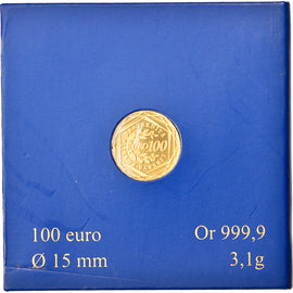 France, 100 Euro, La Semeuse, 2010, Paris, MS(65-70), Gold, KM:1536