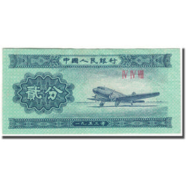 Banknote, China, 2 Fen, KM:861b, AU(50-53)